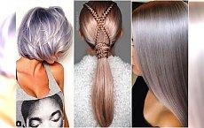 Metaliczne blondy są hitem! Wypróbujcie lawendę, lilaróż i rose gold