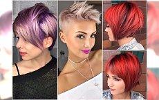 Krótkie fryzury 2018 - modne cięcia, największe trendy