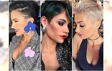 Krótkie fryzury na sylwestra - eleganckie cięcia z grzywką, irokezem, bob