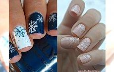 Snowflake manicure - najpiękniejsze stylizacje paznokci z motywem płatków śniegu