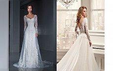 20 absolutnie przepięknych sukien ślubnych z koronką na sezon 2018