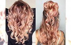 Nietuzinkowa koloryzacja dla blondynek z domieszką różu lub pomarańczu