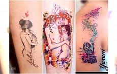 Tatuaż dla mamy - urocze wzory z imieniem dziecka, symbolem nieskończoności i heartbeat