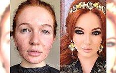 15 niebywałych metamorfoz dokonanych za pomocą makijażu - zdjęcia przed i po