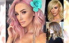 Półdługie fryzury 2018 - dziewczęce cięcia, które odświeżą Twój look