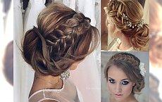 Czarujące fryzury ślubne i wieczorowe ze słowiańskim akcentem - galeria trendów