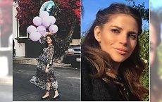 Weronika Rosati pozuje przy choince 3 tygodnie po porodzie. Fanka: Ty jeszcze w ciąży jesteś?