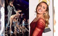 Grammy 2018: Miley Cyrus w tej kreacji była nie do poznania! Pasuje jej ten styl?