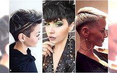 Krótkie fryzury damskie w najmodniejszym wydaniu. Wycinamy wzorki, stylizujemy grzywki!