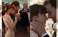 Wiemy, kto zaprojektował suknię ślubną Anastasii Steele! Ty też możesz ją mieć