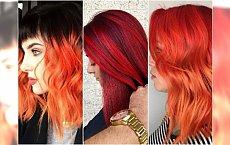 Modne rudości i czerwienie 2018. Te kolory włosów robią wrażenie!