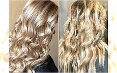 Blond stare złoto - modny kolor włosów dla wielbicielek ciepłych, złocistych odcieni