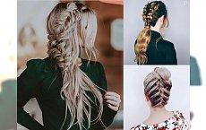 Piękne fryzury z warkoczem 2018 – przegląd modnych pomysłów