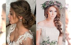 Piękne fryzury ślubne ze słowiańskim akcentem – galeria fryzjerskich trendów 2018
