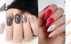 15 najświeższych inspiracji na modny manicure - stylowe wzorki, piękne kolory