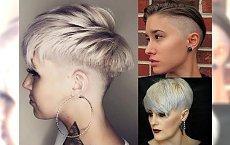 15 damskich fryzur dla krótkich włosów - cięcia z grzywką, undercut i pixie