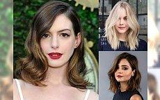 Modne fryzury półdługie – średnia długość włosów to hit 2018