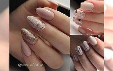 Wiosenny nude manicure - 20 najpiękniejszych pomysłów na stylizacje paznokci