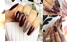 Burgundowy manicure - ociepl swój look w mroźne dni!