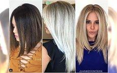 Modne fryzury półdługie, przy których kolor wygląda jeszcze piękniej!