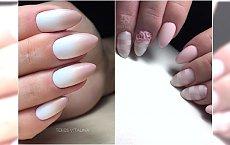 Wiosenny trend w manicure: pastelowy róż. Wypróbujcie delikatne ombre, alu flakes i efekt perły