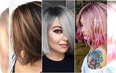 Modne fryzury średnie 2018 - najpiękniejsze cięcia na nowy sezon
