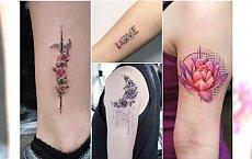 Śliczne małe tatuaże dla dziewczyn - kolorowe i czarno-białe wzory z najpiękniejszymi motywami