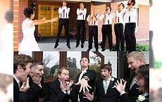 10 par nowożeńców, które nie mogą narzekać na nudne zdjęcia ślubne - zdjęcia nr 2 i 7 wygrywają!