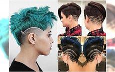 Krótkie fryzury z wzorkami - te cięcia są hitem Instagrama!