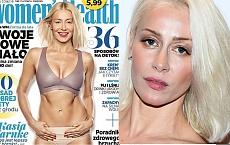 Wysportowane ciało Kasi Warnke na okładce magazynu. Pokazała zdjęcie PRZED RETUSZEM. Nadal jest tak idealne?