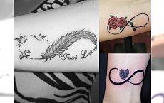 Infinity tattoo - 20 najpiękniejszych wzorów nieskończoności dla dziewczyn