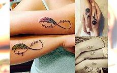 Piękne tatuaże dla sióstr i przyjaciółek – galeria uroczych pomysłów