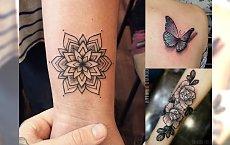 Unikalne tatuaże dla kobiet - 20 supermodnych motywów