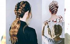 Fryzury z warkoczem 2018 – bardzo oryginalne i modne pomysły