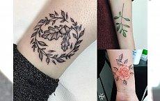 Śliczne tatuaże inspirowane naturą - 20 bardzo kobiecych wzorów