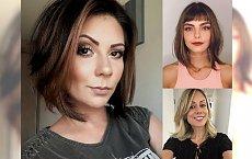 Ultramodne cięcia dla włosów średniej długości - hot trendy 2018
