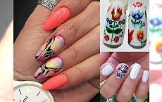 Kolorowy manicure na wiosnę - galeria zachwycających trendów