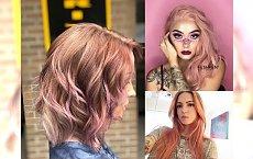 Koloryzacja ROSE GOLD - stylowe propozycje dla brunetek i blondynek!