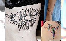 Piękne tatuaże dla kobiet - najnowsze, oryginalne pomysły z sieci