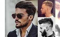 Modne fryzury męskie - galeria trendów 2018