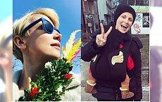 Katarzyna Zielińska pozuje z palmą wielkanocną. Fani zarzucają jej hipokryzję: Wielkanoc to święto życia, a pani popiera jego odbieranie