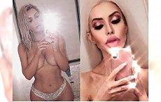 Anella powraca! Pozuje TOPLESS jak Kim Kardashian! Która lepiej?