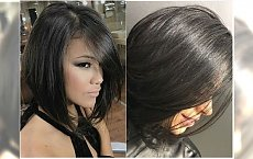 Półdługie fryzury - urocze i eleganckie. Te cięcia najlepiej podkreślą urodę brunetek!