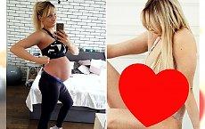 """Płaski brzuch tydzień po porodzie? Bzdura! Trenerka fitness zdradza BOLESNĄ PRAWDĘ: """"To twoje ciało, ten spuchnięty worek"""""""