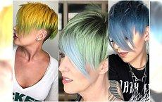 Krótkie fryzury z grzywką - asymetryczne, modnie wygolone. 30 najlepszych inspiracji na wiosnę!