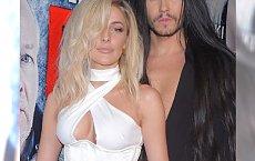 To była najbardziej oryginalna para na imprezie! On znany fryzjer, ona polska Lady Gaga