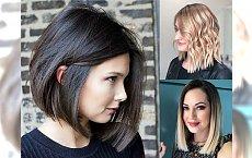 Modne fryzury półdługie - galeria rewelacyjnych cięć na wiosnę!