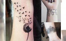 Tatuaż na nadgarstku - 22 najładniejsze wzory, które świetnie wyglądają w tym miejscu