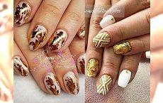 Manicure, który nie przestanie zachwycać: top 25 pomysłów na paznokcie ze złotymi zdobieniami
