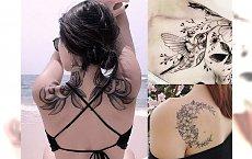 Przeglądamy najpiękniejsze tatuaże - oto modne wzory na ramię, plecy, obojczyk i łopatkę